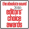 2010 The Absolute Sound - Editors Choice